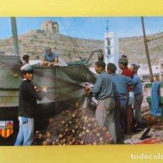 Cartoline: POSTAL GRANADA - CASTELL DE FERRO - PESCADORES RESPARANDO REDES - ZERKOWITZ - SIN CIRCULAR. Lote 266918314