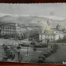 Postales: FOTO POSTAL DE GRANADA. PUERTA REAL Y SIERRA NEVADA. NO CIRCULADA. ESCRITA.. Lote 267901149