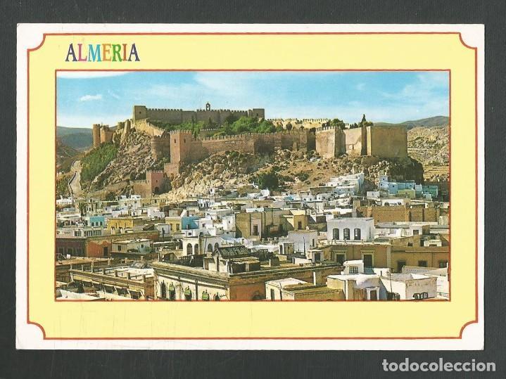 POSTAL SIN CIRCULAR ALMERIA 2009 VISTA PARCIAL Y LA ALCAZABA EDITA ARRIBAS (Postales - España - Andalucia Moderna (desde 1.940))