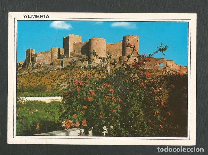 POSTAL CIRCULADA ALMERIA 73 ALCAZABA EDITA ARRIBAS (Postales - España - Andalucia Moderna (desde 1.940))