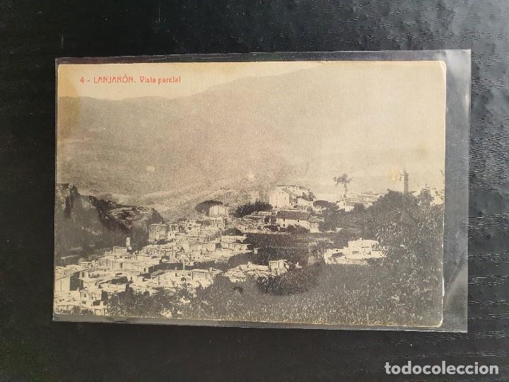 Nº 4. LANJARÓN. GRANADA. VISTA PARCIAL (Postales - España - Andalucía Antigua (hasta 1939))