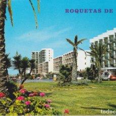 Cartoline: ROQUETAS DE MAR (ALMERIA) PASEO URBANIZACIÓN ROQUETAS - FLORES BARZA Nº175 - S/C. Lote 268727309