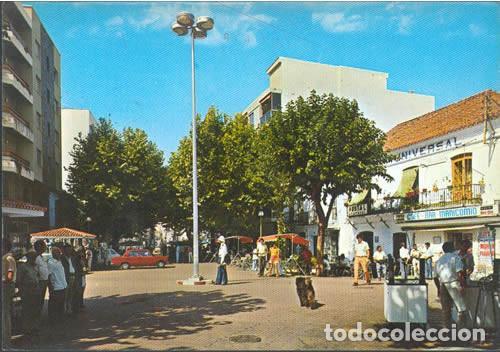 POSTAL ESTEPONA PLAZA DEL GENERALISIMO 1974 MALAGA (Postales - España - Andalucia Moderna (desde 1.940))