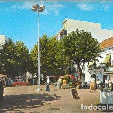 Cartes Postales: POSTAL ESTEPONA PLAZA DEL GENERALISIMO 1974 MALAGA. Lote 268997694