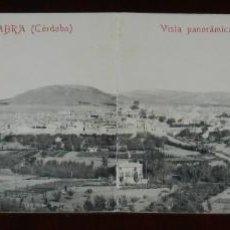 Postales: POSTAL DOBLE DE CABRA, CORDOBA, VISTA PANORAMICA, FOTOTIPIA CASTAÑEIRA, CIRCULADA.. Lote 269337863
