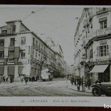 Postales: POSTAL DE GRANADA, N. 47, CALLE DE LOS REYES CATOLICOS, ED. L. ROISIN FOT., NO CIRCULADA.. Lote 269339508
