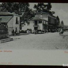 Postales: POSTAL DE GRANADA, PASEO DE SAN SEBASTIAN, ED. STENGEL & CO. 1905, NO CIRCULADA, SIN DIVIDIR.. Lote 269339618