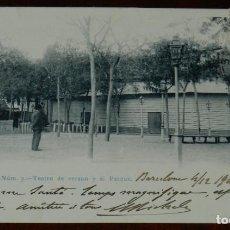 Postales: POSTAL DEL PUERTO DE SANTA MARIA - TEATRO DE VERANO Y EL PARQUE - N.3, FOT. LAURENT, CIRCULADA, DORS. Lote 269413033