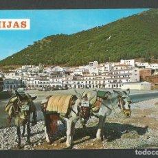 Postales: POSTAL SIN CIRCULAR MIJAS 7 VISTA TIPICA EDITA FOTO ANTONIO. Lote 269747203