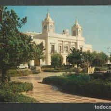 Postales: POSTAL ESCRITA PERO NO CIRCULADA BARBATE 6 (CADIZ) AYUNTAMIENTO EDITA ESCUDO DE ORO. Lote 269747728
