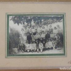 Postales: FOTOGRAFIA DE ALUMNOS Y PROFESORA DE COLEGIO EN MARTOS (JAEN), FOTO MANUEL SANCHEZ, MIDE 28 X 21 CMS. Lote 270202248