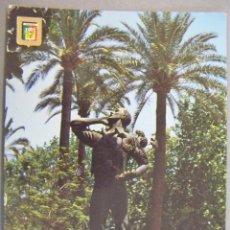 Postales: POSTAL DE MALAGA. EL BIZNAGUERO. PLAZA DE LA MARINA ED DOMINGUEZ Nº 76 ESCRITA. Lote 270553073