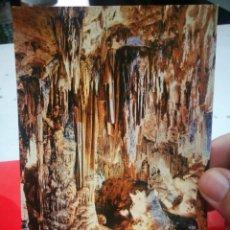 Postales: POSTAL CUEVA DE NERJA MÁLAGA GRAN COLUMNA DE LA SALA DE LA CASCADA N 9 FOURNIER S/C. Lote 270555153