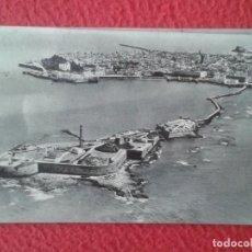 Postales: SPAIN POST CARD CÁDIZ CASTILLO DE SAN SEBASTIÁN, PROPIEDAD AYUNTAMIENTO, HUECOGRABADO FOURNIER VER... Lote 270573288