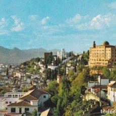 Cartoline: GRANADA, VISTA DE LA ALHAMBRA Y CIUDAD - EDITADA EN 1966 - CIRCULADA. Lote 271900098