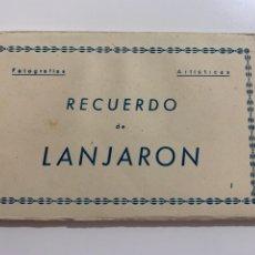 Postales: LANJARÓN - LIBRITO DE 10 POSTALES - ED. ARRIBAS. Lote 273143243