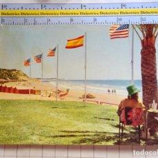Postales: POSTAL DE CÁDIZ. AÑO 1962. PUERTO DE SANTA MARÍA, TERRAZA MARÍTIMA DEL HOTEL FUENTEBRAVIA. 951. Lote 294142983
