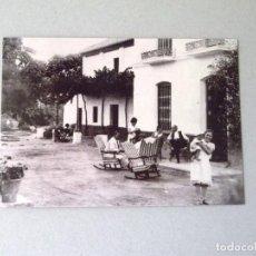 Postales: POSTAL, FAMILIARES DE FEDERICO GARCÍA LORCA EN LA HUERTA DE SAN VICENTE. GRANADA 1931. DEPÓSITO LEG. Lote 274683923
