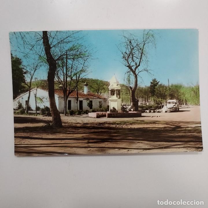 POSTAL CAZALLA DE LA SIERRA PASEO DEL MORO SEVILLA 9,5 X 15 ESCRITA SIN CIRCULAR 1966 RARA (Postales - España - Andalucia Moderna (desde 1.940))
