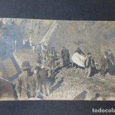 Postais: CORDOBA DESCARRILAMIENTO DE TREN TRASLADO DE HERIDOS A TREN SOCORRO SANTOS FOTOGRAFO POSTAL FOTOGRAF. Lote 275147338