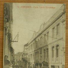 Postales: POSTAL DE CORDOBA, CALLE CONDE GONDOMAR, EDIT. LARA Y GARCIA. NO CIRCULADA. ESCRITA.. Lote 275488318