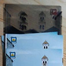 Postales: MARBELLA Nº 5621 PLAZA JOSÉ PALOMO / POSTAL , PRUEBAS DE COLOR , NEGATIVOS / EDICIONES PERGAMINO. Lote 276086553