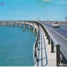 Postales: CADIZ PUENTE JOSE LEON DE CARRANZA 1980 POSTAL CIRCULADA. Lote 277022633