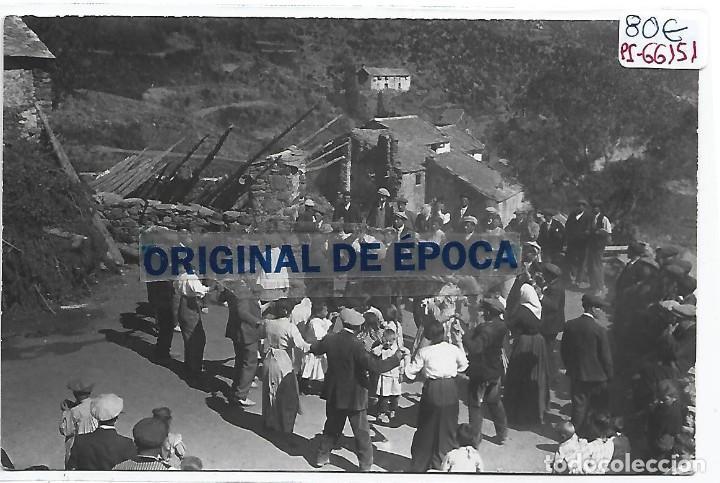 (PS-66151)POSTAL FOTOGRAFICA ALREDEDORES DE RIPOLL-SARDANES.FOTO LLOBET (Postales - España - Andalucía Antigua (hasta 1939))