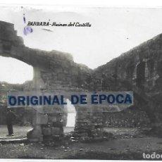 Postales: (PS-66154)POSTAL FOTOGRAFICA DE BARBARA-RUINAS DEL CASTILLO. Lote 277166248