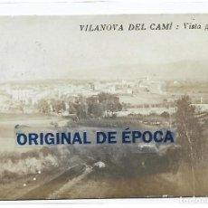 Postales: (PS-66155)POSTAL FOTOGRAFICA DE VILANOVA I CAMI-VISTA GENERAL. Lote 277166378