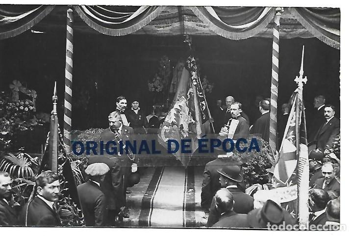 Postales: (PS-66156)LOTE DE 4 POSTALES FOTOGRAFICAS DE BARCELONA-SOMATEN ARMADO VILAFRANCA DEL PENEDES - Foto 4 - 277166563