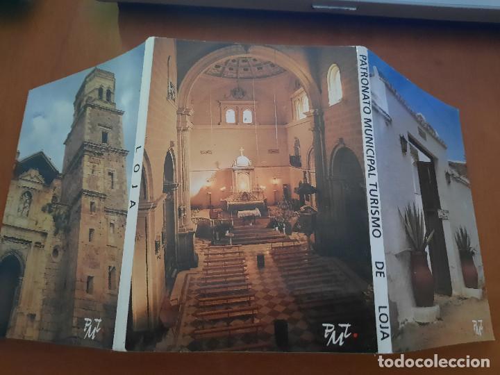 LOJA. 10 POSTALES SERIE SEGUIDAS. PATRONATO MUNICIPAL TURISMO DE LOJA. BUEN ESTADO,DIFICIL (Postales - España - Andalucia Moderna (desde 1.940))