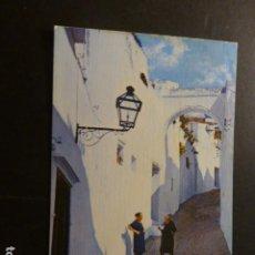 Postales: ARCOS DE LA FRONTERA CADIZ CALLE DE VALDERRAMA. Lote 277301213