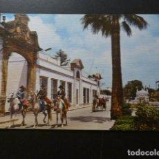 Postales: PUERTO DE SANTA MARIA CADIZ CABALLISTAS EN DIA DE FERIA. Lote 277301273