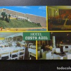 Postales: BENALMADENA COSTA MALAGA HOTEL COSTA AZUL. Lote 277301483