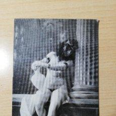 Postales: POSTAL DESNUDO FEMENÍNO. FOTOGRAFIA ERÒTICA. CARTE POSTALE ANCASO. SIN USAR. Lote 277595598