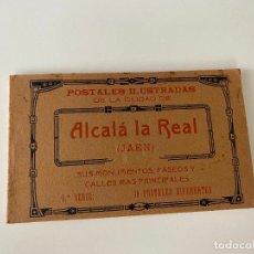 Postales: ALCALÁ LA REAL , JAEN , BLOC DE 15 POSTALES , 1 SERIE . HAUSER Y MENET ,. Lote 277617618