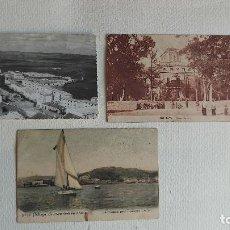 Postales: R-146.- LOTE DE -- 3 -- POSTALES DE- MALAGA, HUELVA Y VILLAMARTIN ( CADIZ ) VER FOTOS. Lote 277637843