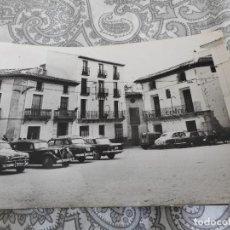 Postales: ANTIGUA POSTAL.PLAZA ESTACION.VELEZ RUBIO.FOTO LOPEZ Nº 24. Lote 277646008