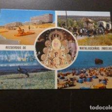 Postales: MATALASCAÑAS HUELVA. Lote 277655643
