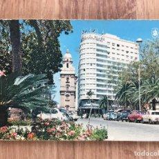 Postales: POSTAL DE LA PLAZA QUEIPO DE LLANO ( MÁLAGA ). Lote 277735988