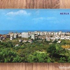 Postales: POSTAL DE NERJA ( MÁLAGA ) VISTA GENERAL ( AÑOS 60/70 ). Lote 277736353