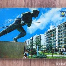 Postales: POSTAL DE FUENGIROLA ( MÁLAGA ) PASEO MARITIMO ( AÑOS 60/70 ). Lote 277736853