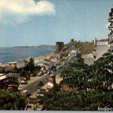 Postales: EM1454 FUENGIROLA CARVAJAL VISTA PARCIAL 1964 ESCUDO DE ORO Nº26 CAMION COCHES. Lote 278206868