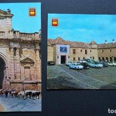 Postales: 2 POSTALES SIN CIRCULAR DEL PARADOR DE CARMONA ( SEVILLA). Lote 278405973