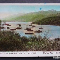 Postales: FONDEADERO DE SAN ROQUE, ANTIGUA POSTAL CIRCULADA. Lote 278406813