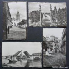 Postales: SEVILLA, 4 POSTALES DE LOS AÑOS 50, VER FOTOS. Lote 278407293