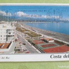 Postales: TORRE DEL MAR - AÑO 1994 - PASEO MARÍTIMO. Lote 278446088