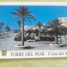 Postales: TORRE DEL MAR - AÑO 1995 - PASEO MARÍTIMO. Lote 278446128