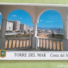 Postales: TORRE DEL MAR - AÑO 1996 - PASEO MARÍTIMO. Lote 278446163